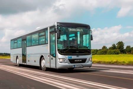 Междугородный автобус MAN Lion's Intercity