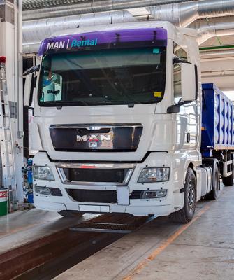 Техническое обслуживание грузовиков МАН в Москве