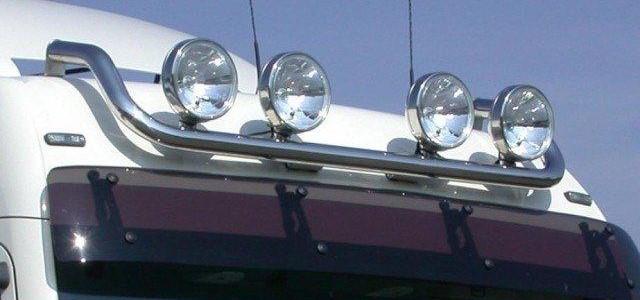Установка дополнительного освещения на грузовые автомобили