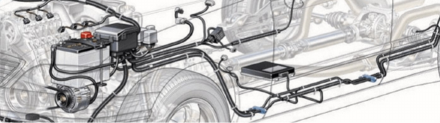 Ремонт и замена проводки грузового автомобиля