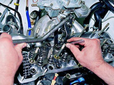 Замена, ремонт клапанного механизма МАН