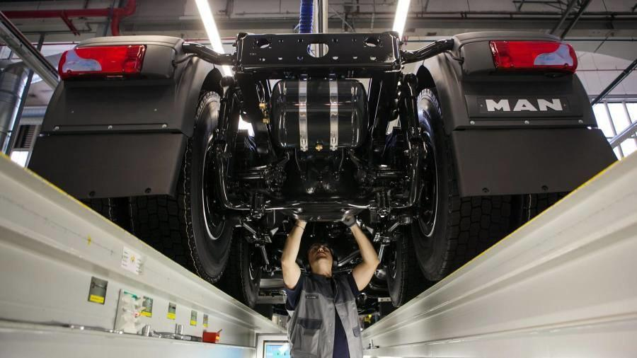 Диагностика и ремонт подвески грузовиков MAN