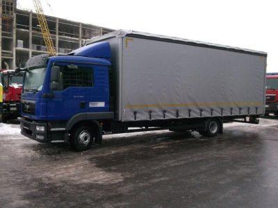 Фургон TGL 12.180 4×2 BL L (штора)