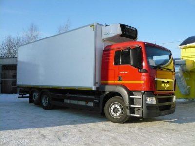 Фургон MAN TGS 26.400 6×2-2 BL