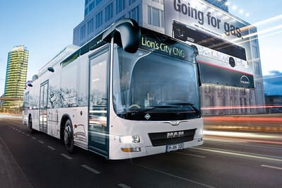 Городской автобус MAN Lion´s City CNG