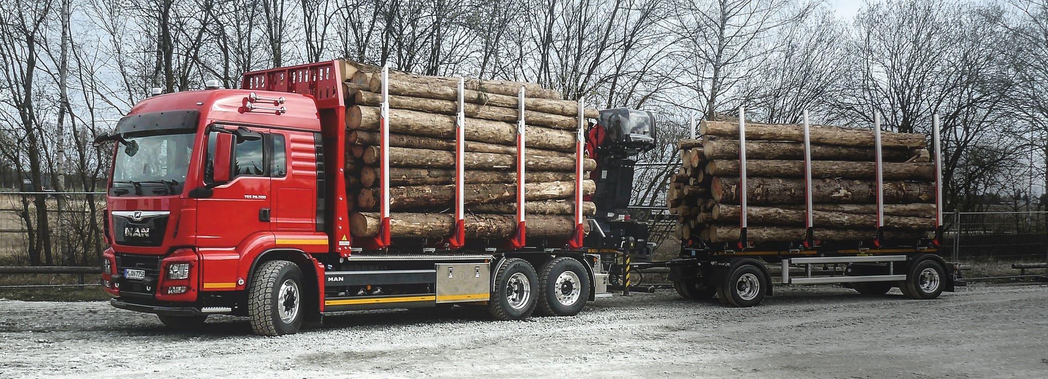 Лесовозы MAN