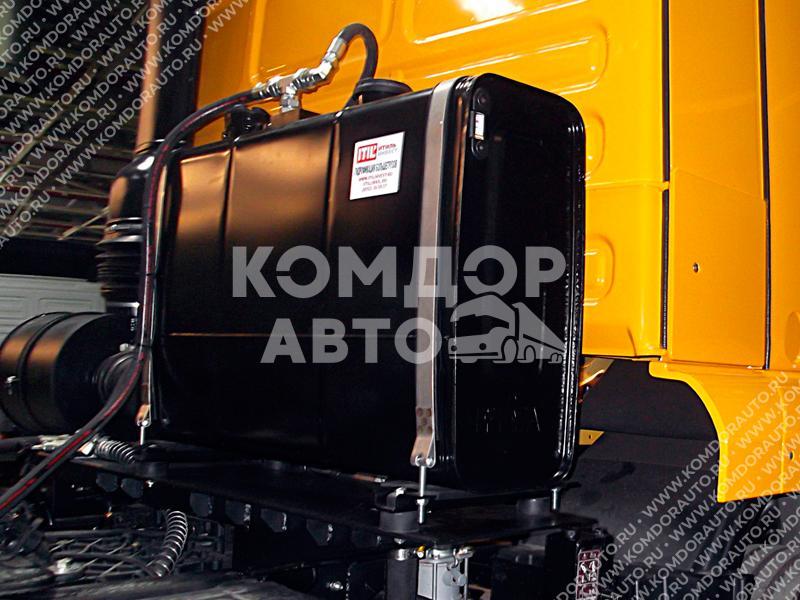 Гидрофикация грузовиков MAN в сервисном центре