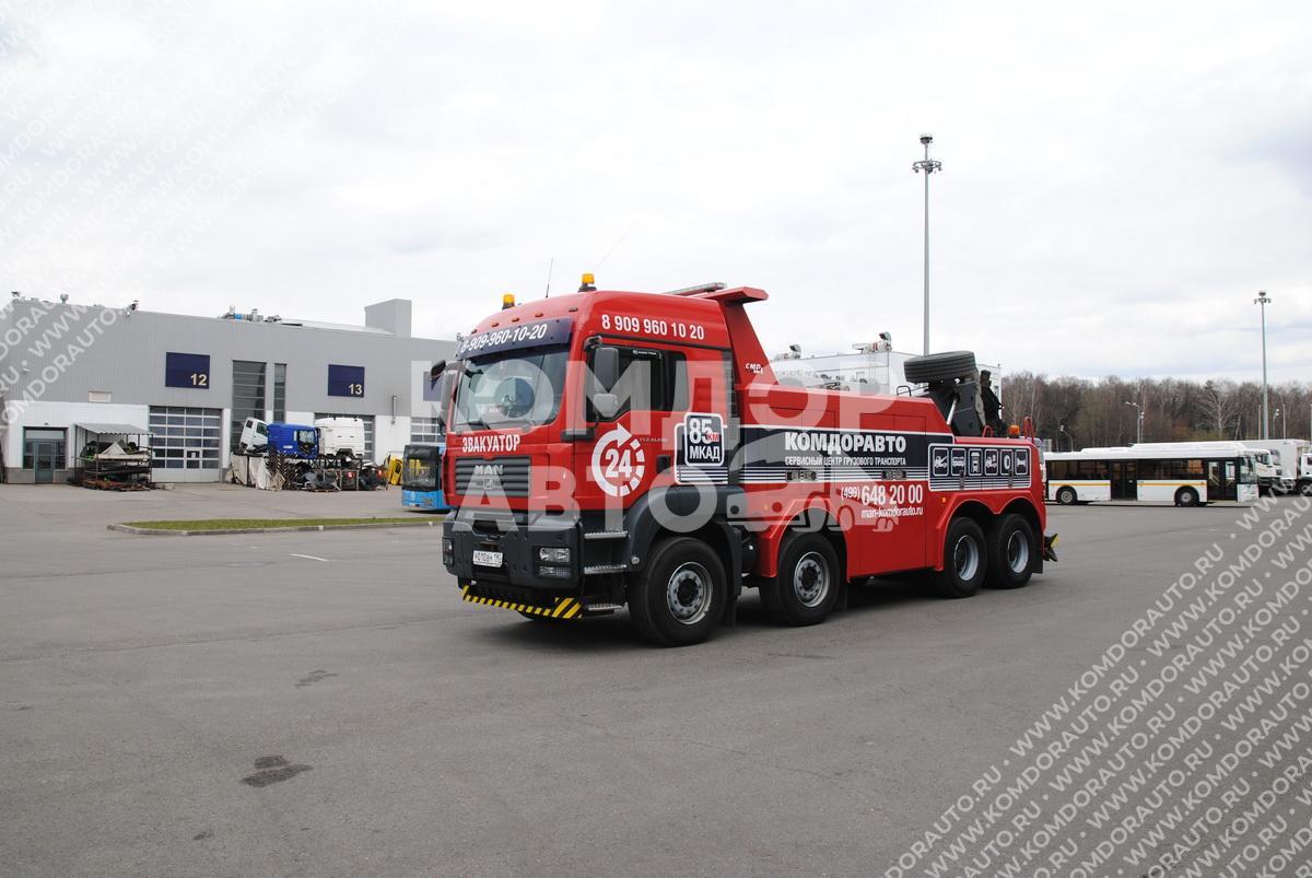 Эвакуация грузовиков