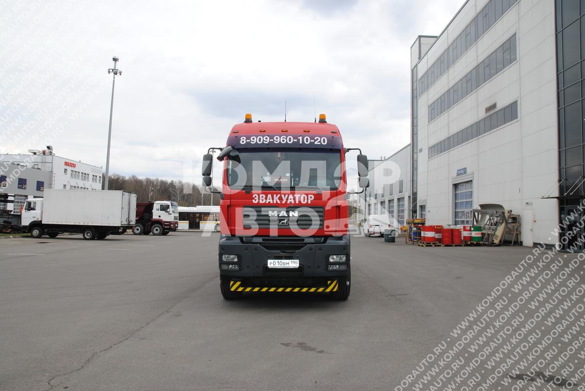 Эвакуация грузового транспорта
