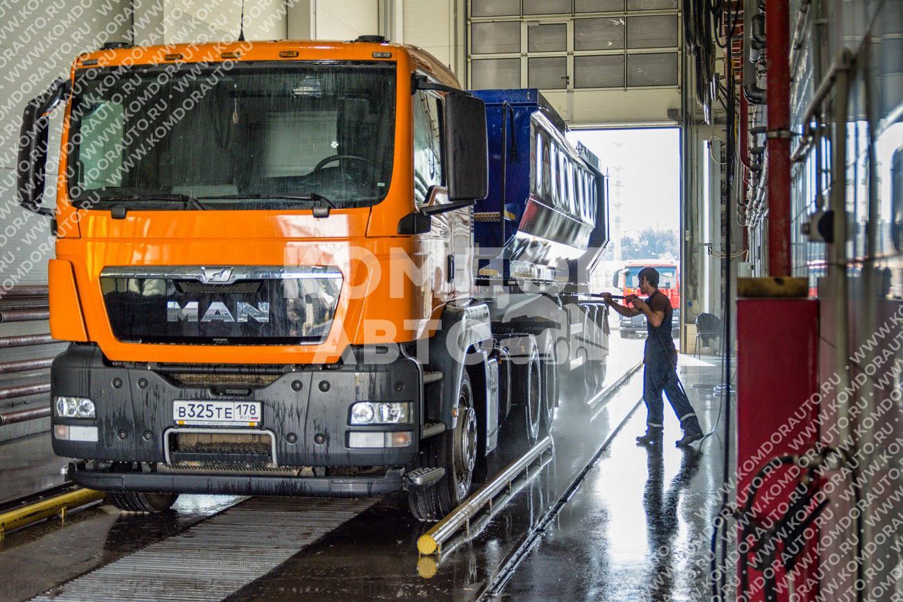 Мойка грузовых автомобилей