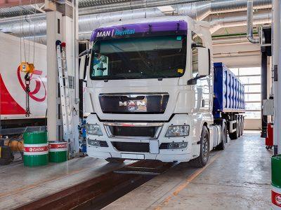 Техническое обслуживание автомобилей МАН