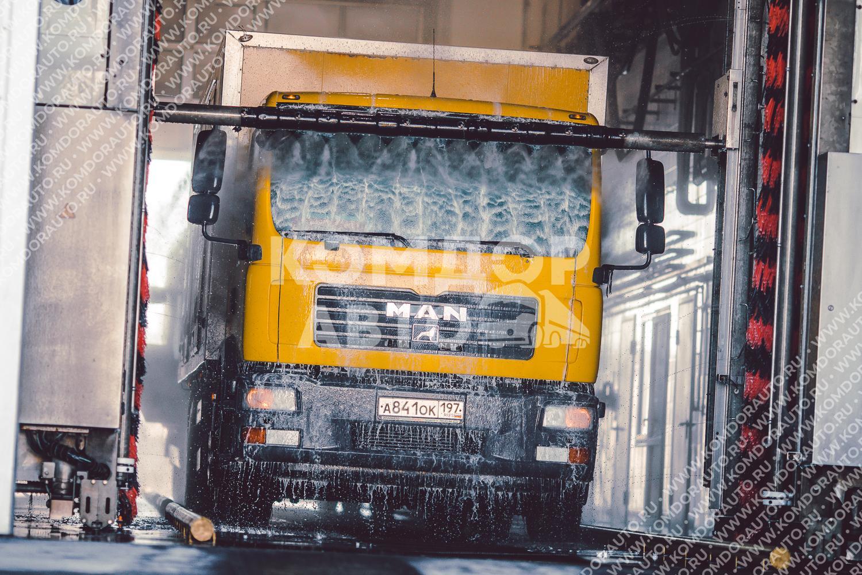 Услуги автомойки для грузовых