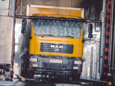 Автомойка для грузовых автомобилей