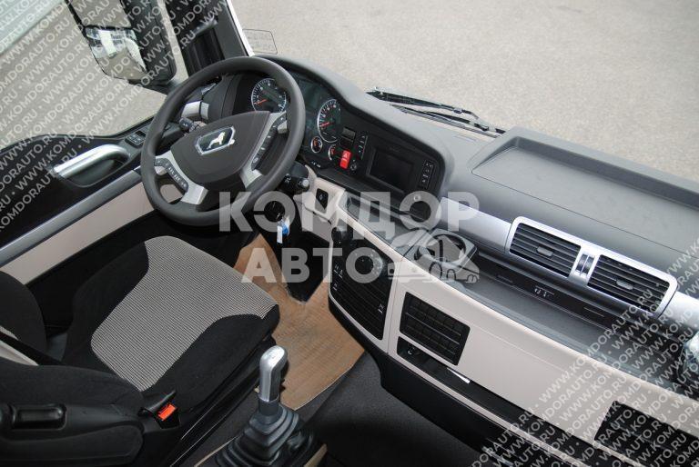 MAN TXG 18 400 XLX кабина внутри