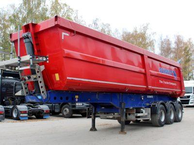 Schmitz Cargobull SKI 24-SL 27 m3 стальной полукруглый кузов
