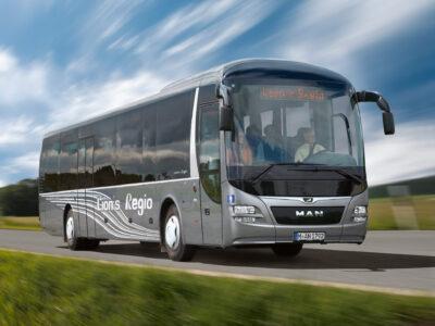 Междугородные автобусы МАН