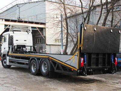 Эвакуатор с ломаной платформой MAN TGS 28.360 6x2-2 BL